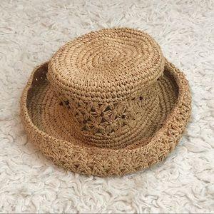 Liz Claiborne Vintage Straw Hat